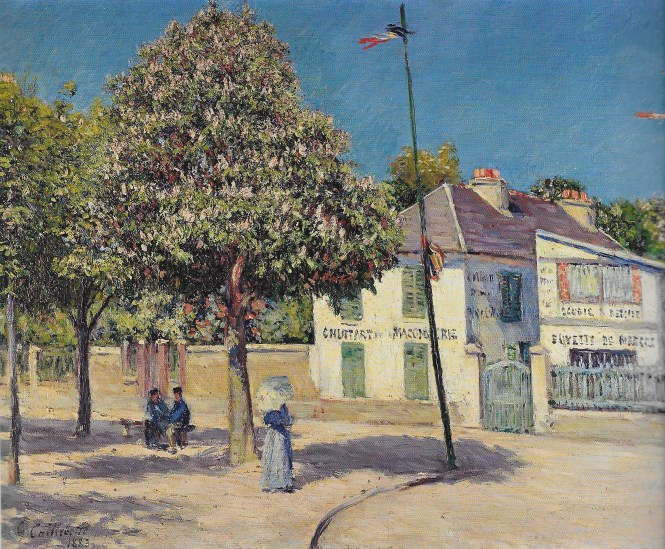 La plaza del mercado Caillebotte